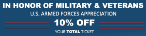 Veteran and Military Discount at Mexican Food Restaurant in AZ