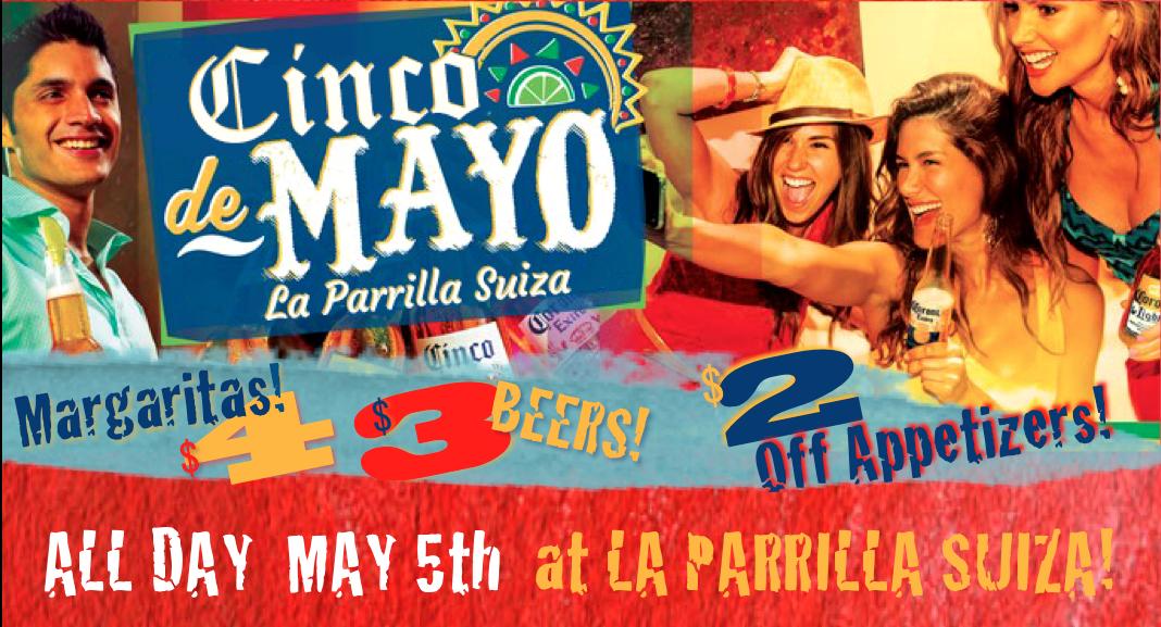 Cinco de Mayo Specials in Phoenix and Tuscon